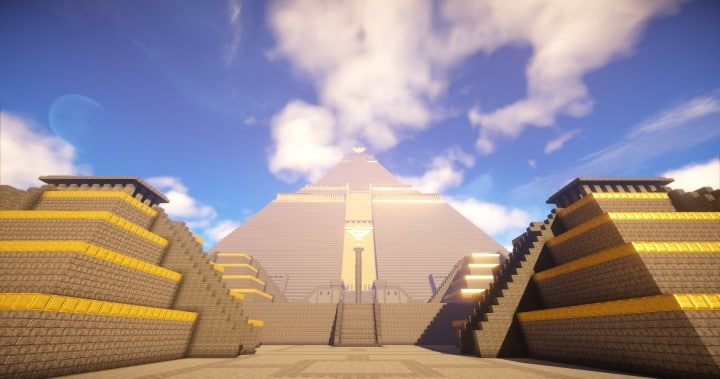 The Great Pyramid of Meereen  Game of Thrones Minecraft Building Ideas download HBO TV Show amazing egypt