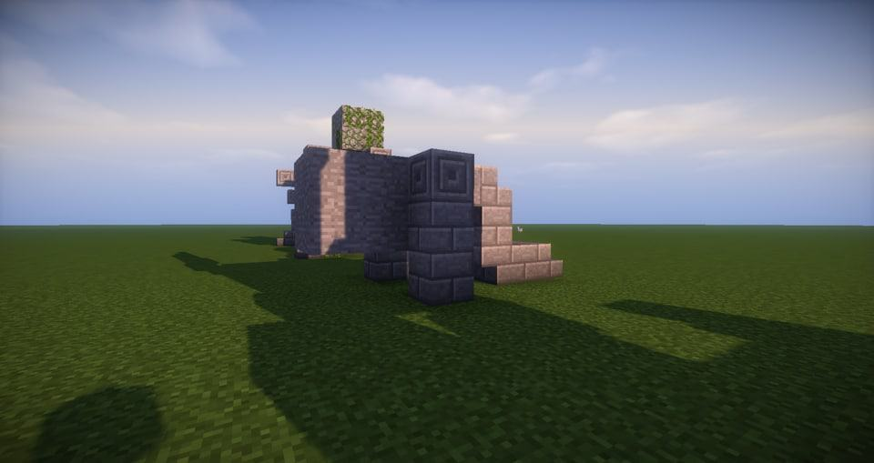 14 - Minecraft small statues for worlds easy to build