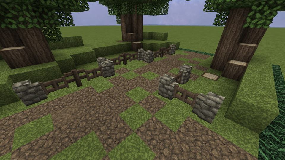 How To Make A Beautiful Minecraft Trail Minecraft