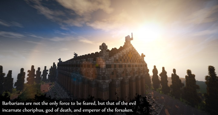 Greek Themed Temple of Xanthos Timelapse Download  Minecraft building ideas amazing conquest lore 8