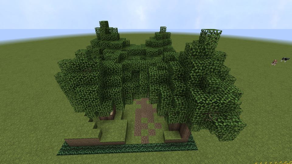 Spam leaves minecraft beautiful trail how to