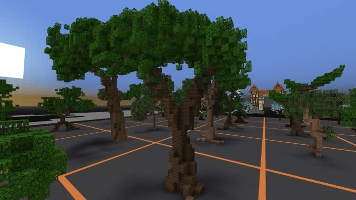 Tree bundle Download 56 trees total mincraft building ideas decor nature woods 10