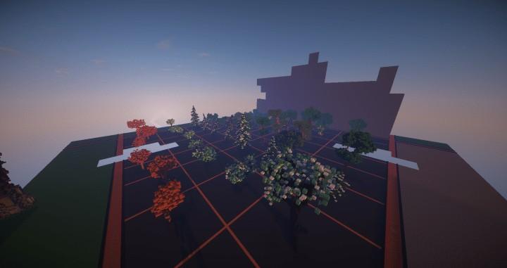 Tree bundle Download 56 trees total mincraft building ideas decor nature woods 4