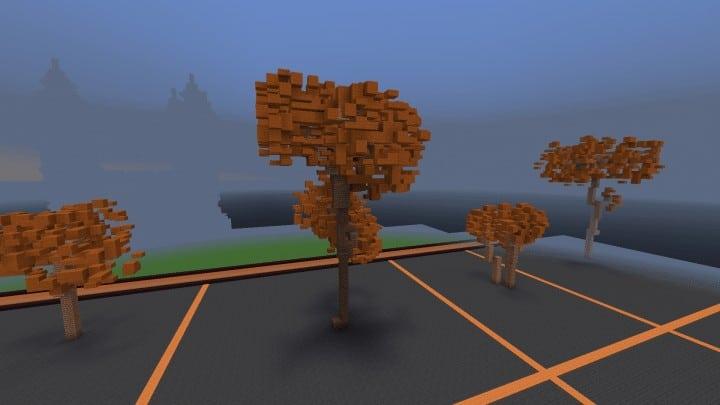 Tree bundle Download 56 trees total mincraft building ideas decor nature woods 5