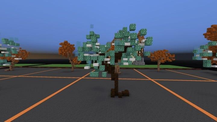 Tree bundle Download 56 trees total mincraft building ideas decor nature woods 6