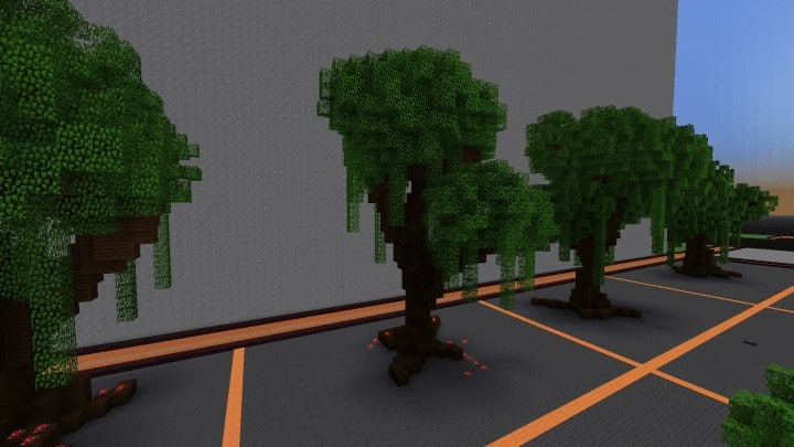 Tree bundle Download 56 trees total mincraft building ideas decor nature woods 8