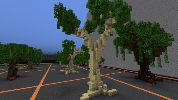Tree bundle Download 56 trees total mincraft building ideas decor nature woods 9