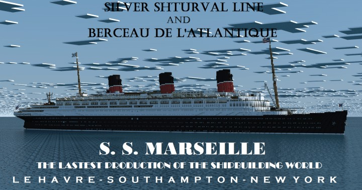 Photo of French Ocean liner | SS Marseille (II)