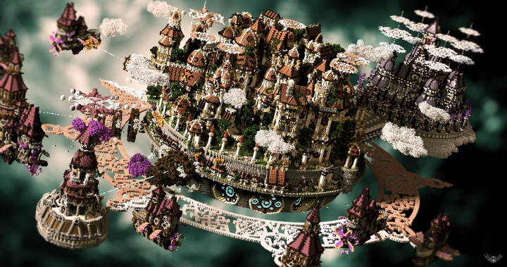 The last crusade By Hydroxys Minecraft castle building ideas download save world 3