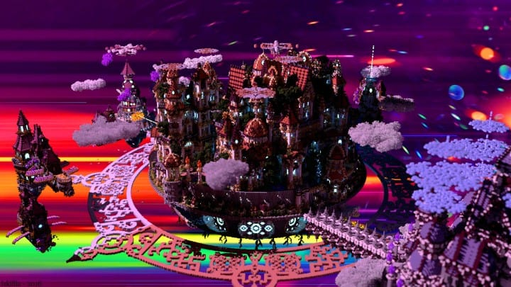 The last crusade By Hydroxys Minecraft castle building ideas download save world 5