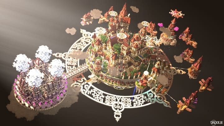 The last crusade By Hydroxys Minecraft castle building ideas download save world 6