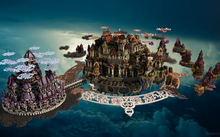 The last crusade By Hydroxys Minecraft castle building ideas download save world 8