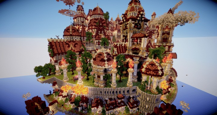 The last crusade By Hydroxys Minecraft castle building ideas download save world 9
