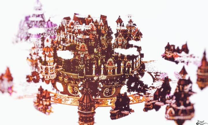 The last crusade By Hydroxys Minecraft castle building ideas download save world