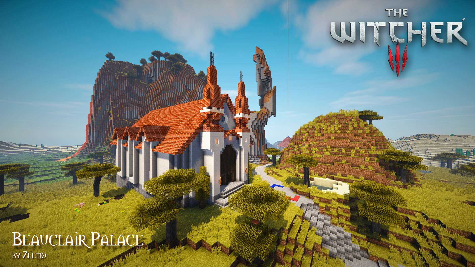 the witcher  u2013 minecraft building inc