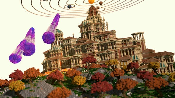 Vesperium The Celestial Empire Minecraft cathedral temple amazing hd download contest