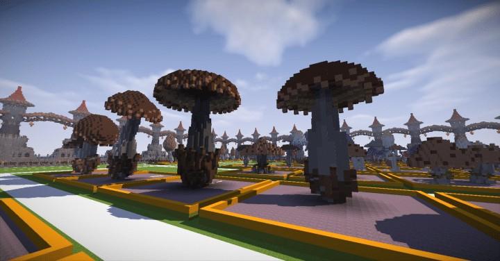 130 REALISTIC MUSHROOMS Schematics Minecraft amazing download ton lots screenshots 2