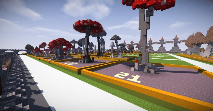 130 REALISTIC MUSHROOMS Schematics Minecraft amazing download ton lots screenshots 4