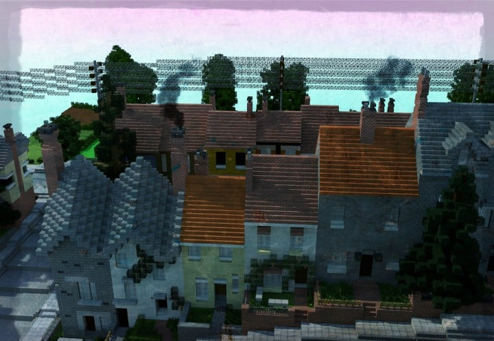 Carville Industrial city 1900-1930 v 2.0 downlaod minecraft building ideas save old amazing train industrial 4
