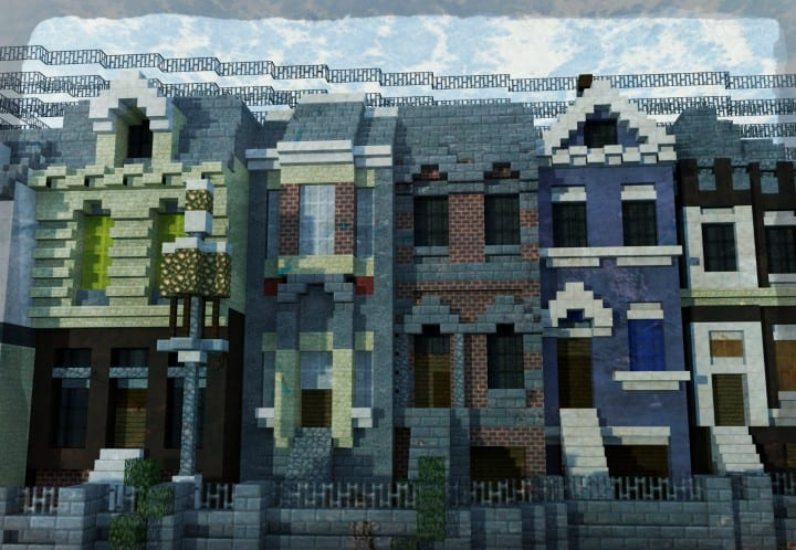 Carville Industrial city 1900-1930 v 2.0 downlaod minecraft building ideas save old amazing train industrial 5