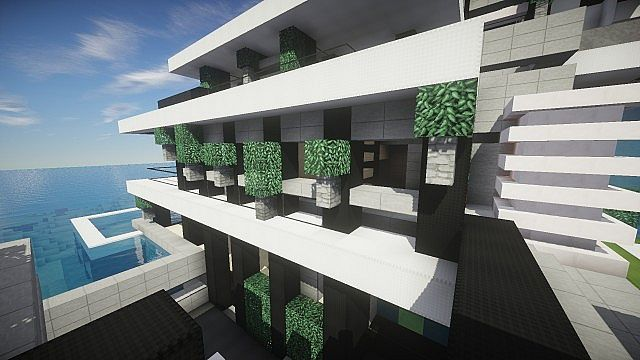 Chicken Cove luxurious house addons updated beautiful download minecraft building ideas 10