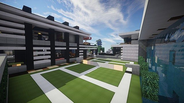 Chicken Cove luxurious house addons updated beautiful download minecraft building ideas 14