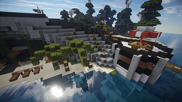 Chicken Cove luxurious house addons updated beautiful download minecraft building ideas 15