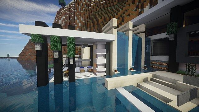 Chicken Cove luxurious house addons updated beautiful download minecraft building ideas 17