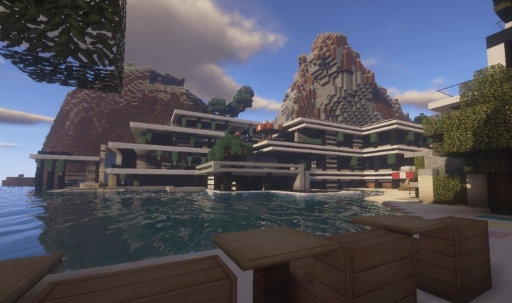 Chicken Cove luxurious house addons updated beautiful download minecraft building ideas 3