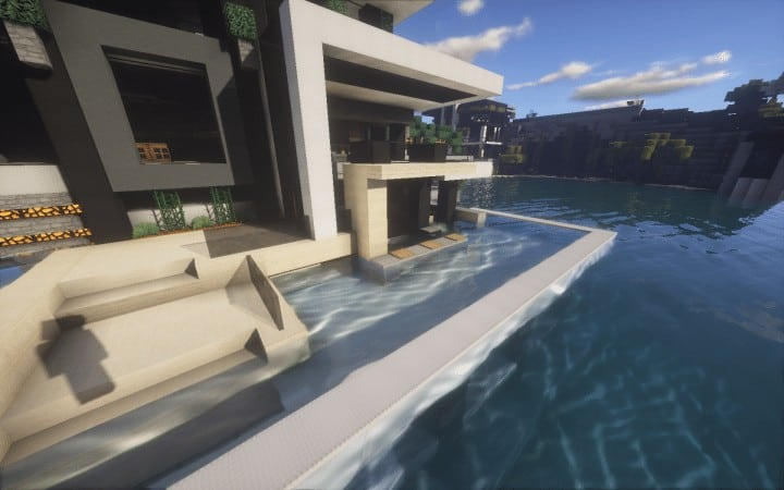 Chicken Cove luxurious house addons updated beautiful download minecraft building ideas 6