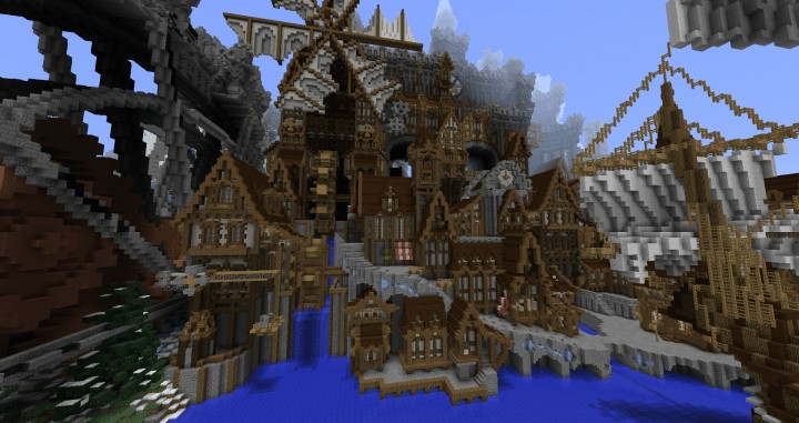 Conderial | Steampunk City – Minecraft Building Inc