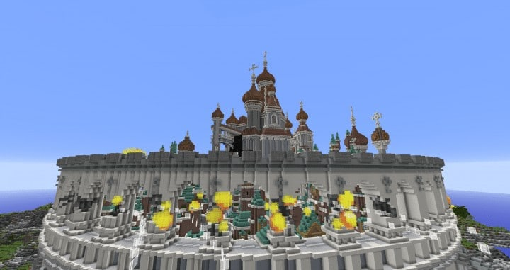 Defenseless - The Barbarians Are Coming tank minecraft building ideas war 1st place amazing download save 11
