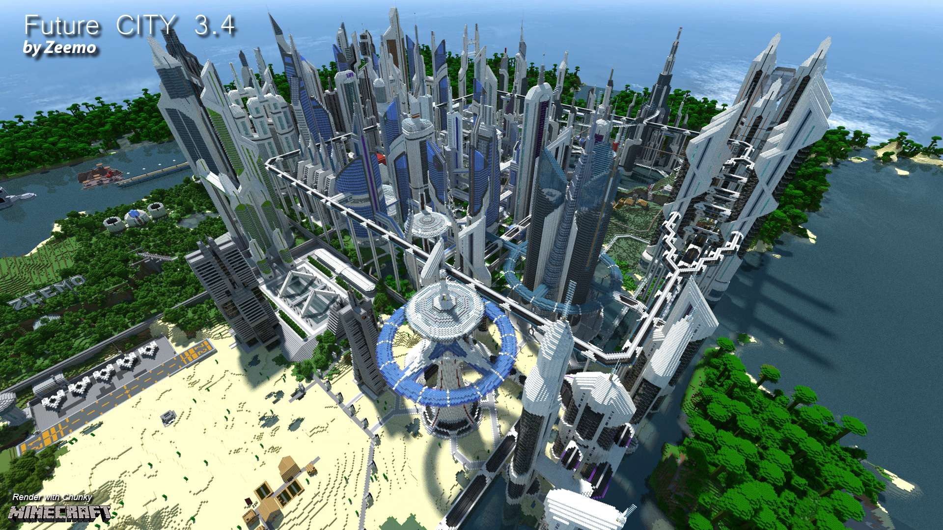 Future CITY 3.4 – Minecraft Building Inc