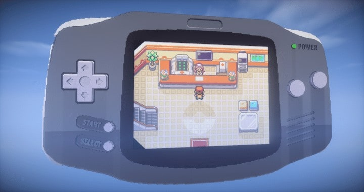 Photo of Working Pokemon FireRed GBA