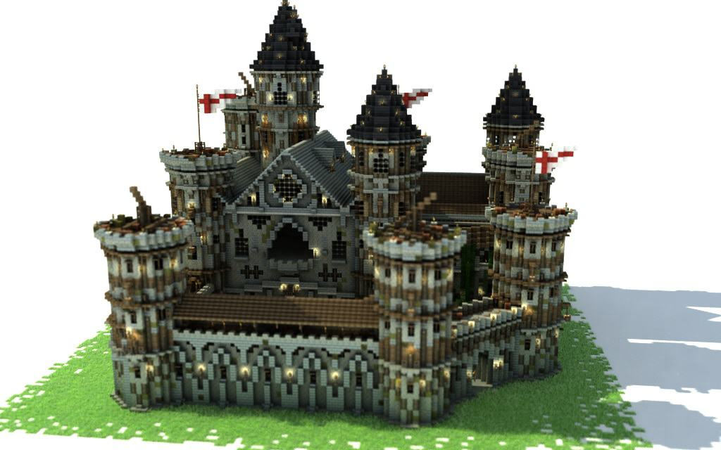 How to build a castle tutorial minecraft building inc for Build a castle home