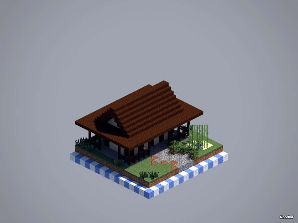 minecraft-asian-house