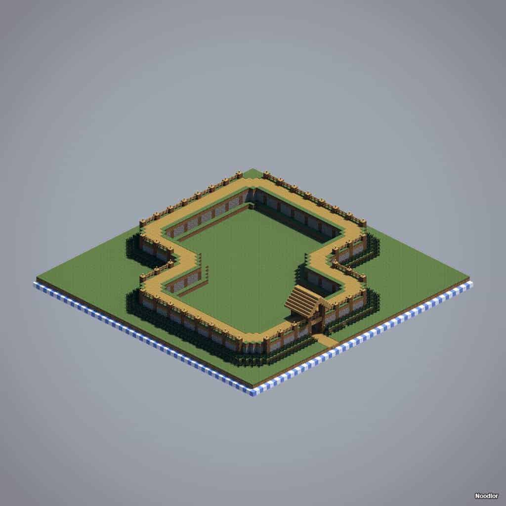 rampart-walls-cobblestone-grass-oak-minecraft