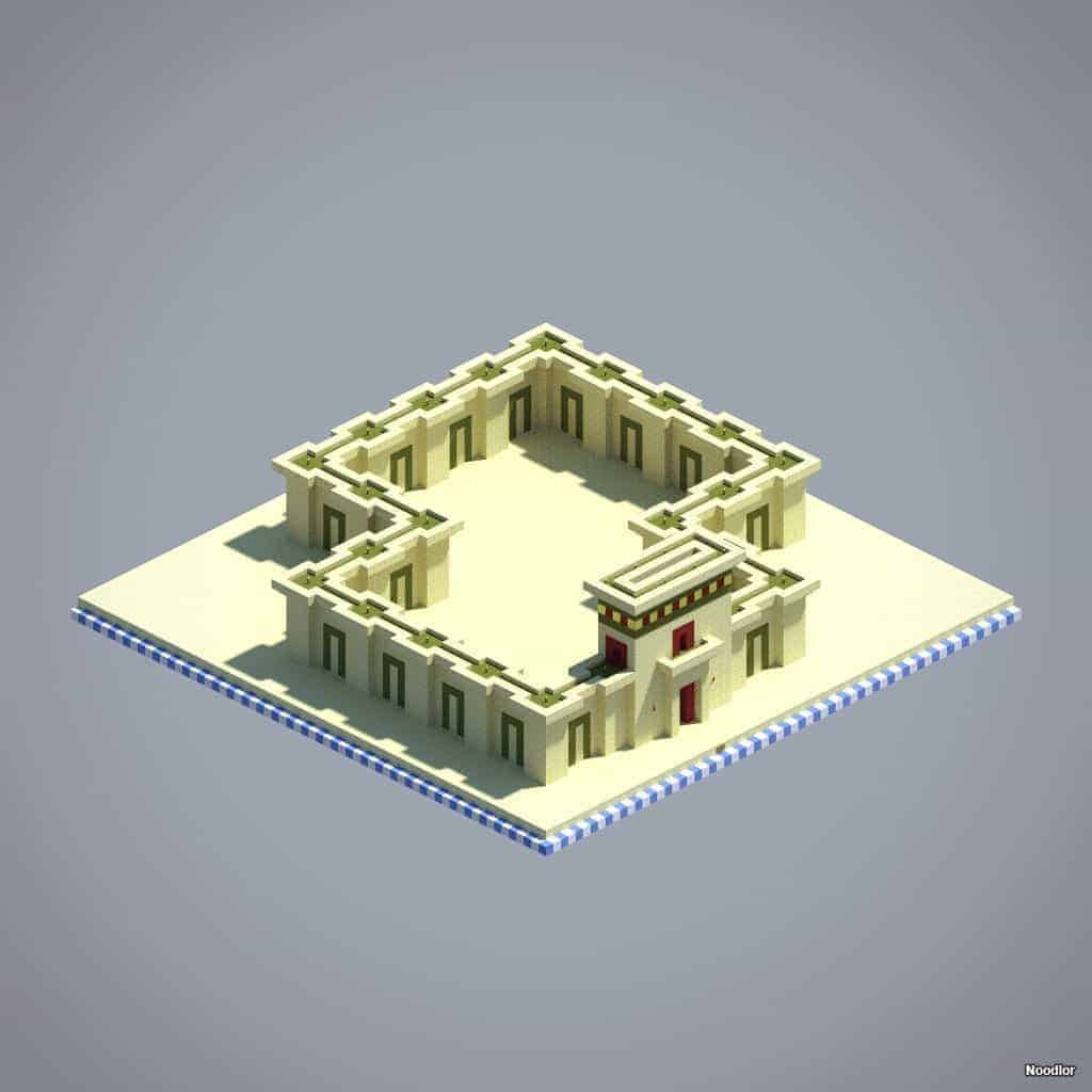 temple-walls-sandstone-stained-clay-gold-blocks-minecraft
