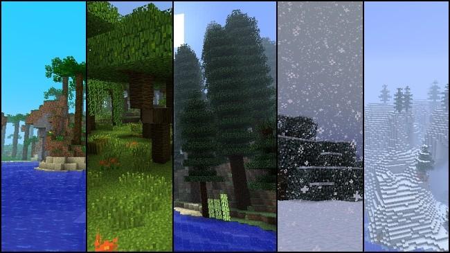 Photo of Minecraft Biomes vs Real Life