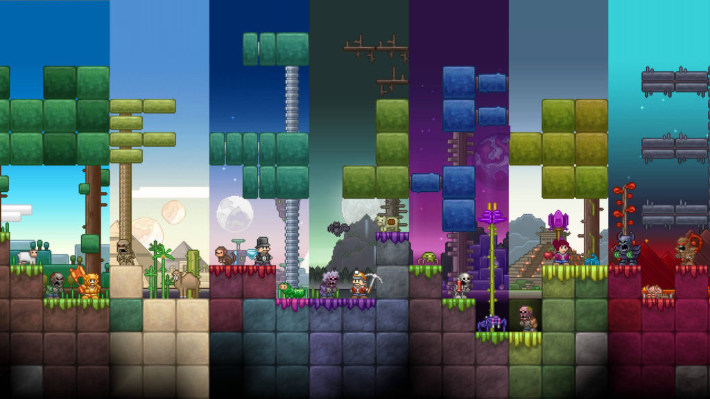 Junk Jack game similar to Minecraft
