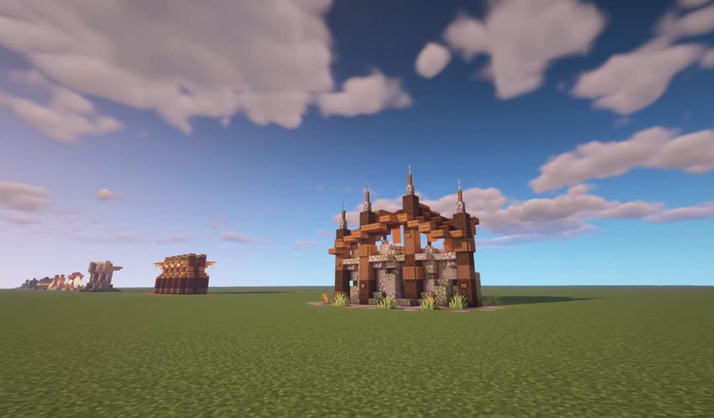 50 Minecraft Builds