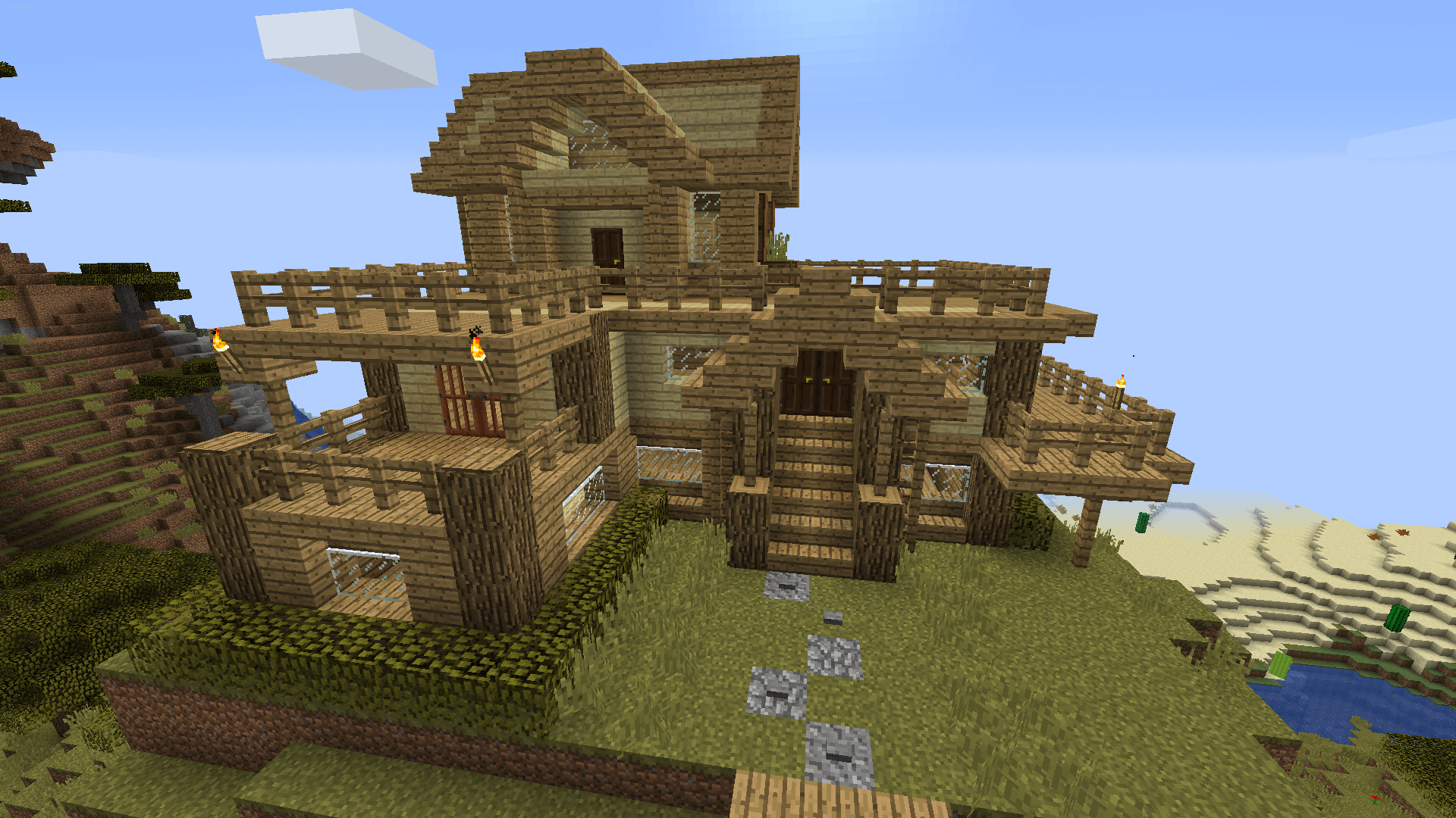 Building Tips Boring Cubes