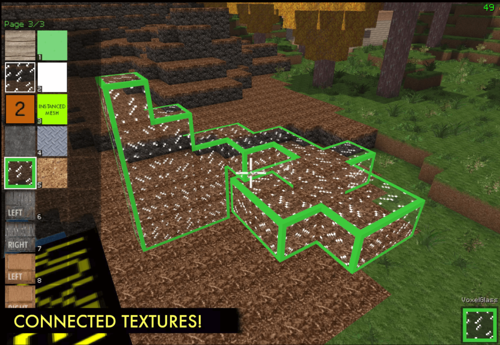 Voxel Play Features