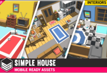 Photo of Simple House Interiors – Cartoon Assets