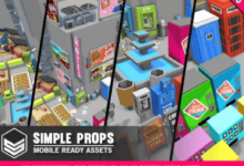Photo of Simple Props – Cartoon Assets
