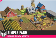 Photo of Simple Farm – Cartoon Assets