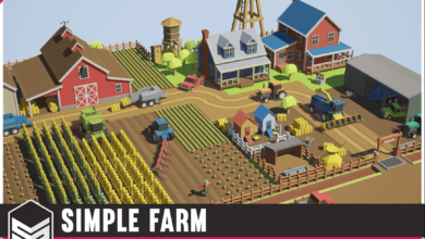 Photo of Simple Farm – Cartoon Assets