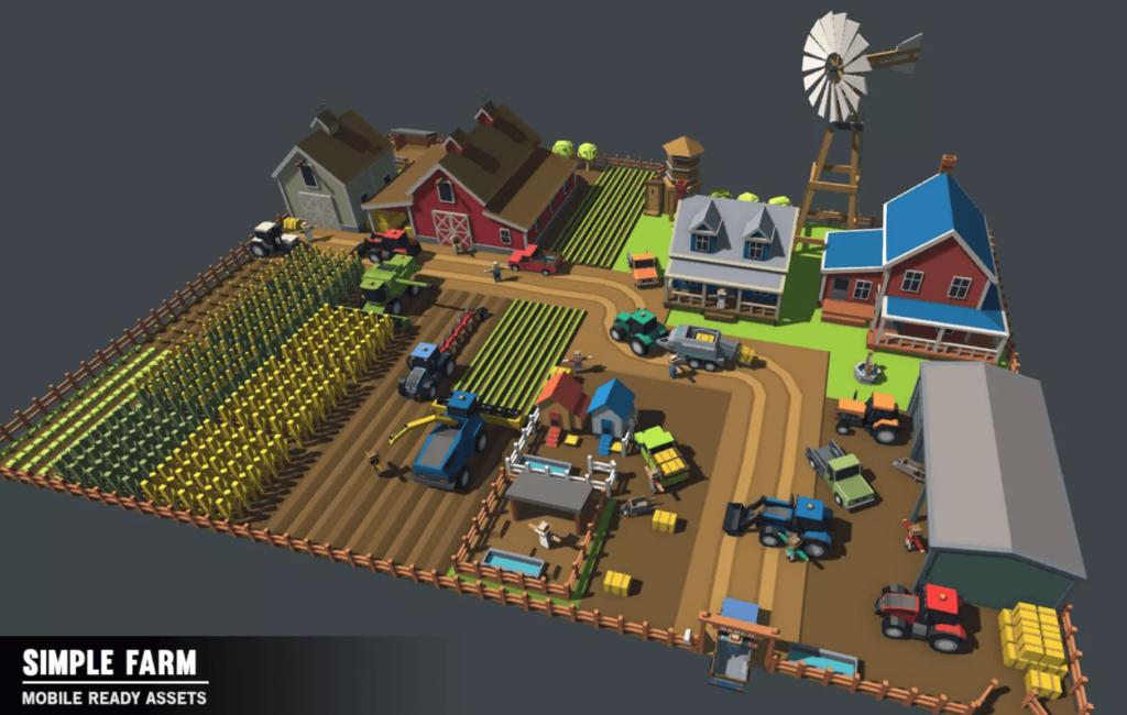 Simple Farm  Minecraft