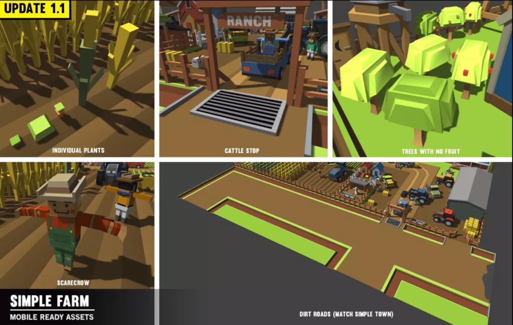 Simple Farm Minecraft Assets