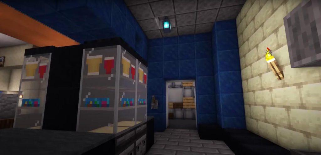 Minecraft cinema shop